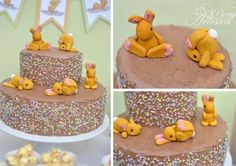 Tutorial to make these super cute fondant bunnies! - The Party Artisan