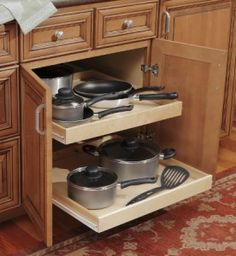 Kitchen drawer base cabinets. The deep drawers are the perfect size to store all of your kitchen gadgets and cookware