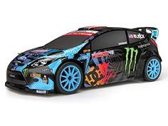 HPI Racing 111224 Micro RS4 2013 Fiesta Ken Block HFHV Body RC Car