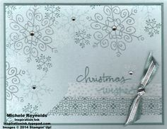 Endless Wishes Snowflake Collage by Michelerey - Cards and Paper Crafts at Splitcoaststampers