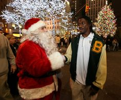 RG3 and Santa