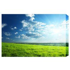 Wall Art Skycape Print - Clear Skies
