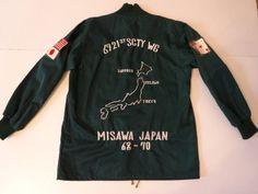 Vintage 1960s US Air Force 6921 USAF Security Service Japan Souvenir Tour Jacket   eBay