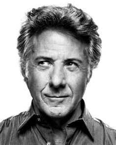 Dustin Hoffman (1937) - American actor in film, TV and theatre. Photo © Platon