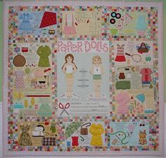 Love this paperdoll quilt.  Too bad I don't like to do all that handwork applique!!  But, I sure like the quilt!!!