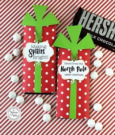 Christmas candy bar wrappers, teacher appreciation gift, candy bar wraps, t Christmas Candy Bar, Neighbor Christmas Gifts, Christmas Party Favors, Christmas Gift Baskets, Neighbor Gifts, Xmas Gifts, Handmade Christmas, Christmas Fun, Christmas Birthday