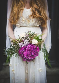 1970's Bridal Inspiration By Leanne Keaney Photography // www.onefabday.com