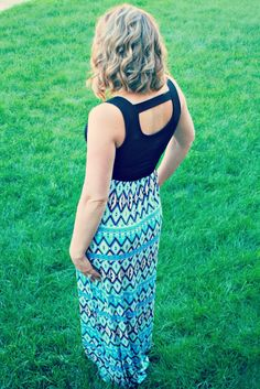 Great piece for day to night! (Gilli Tom Maxi Dress)