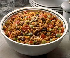 Picadillo is a favorite dish in several Spanish-speaking countries. It usually includes pork, tomatoes, onion, and garlic with regional additions.
