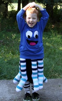 DIY octopus costume!