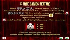Wild Panda online slot machine pictures and slot feature list from NYX, play Wild Panda Slots for free. Panda Online, For All Symbol, Wild Panda, Coin Values, Slot Machine, Panda Bear, Free Games, Nyx, Spelling