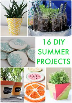 16 DIY Summer Projects