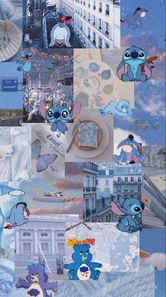 Cute Blue Wallpaper, Disney Phone Wallpaper, Funny Phone Wallpaper, Cartoon Wallpaper Iphone, Iphone Wallpaper Tumblr Aesthetic, Cute Patterns Wallpaper, Bear Wallpaper, Iphone Background Wallpaper, Aesthetic Pastel Wallpaper