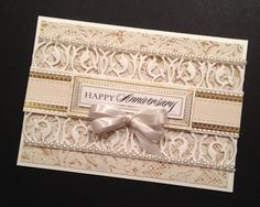 Hey, I found this really awesome Etsy listing at https://www.etsy.com/listing/193417661/fancy-gold-and-cream-anniversary-card