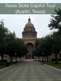 Texas State Capitol Tour {Austin, Texas} #ThingsToDo #Texas #Capitols