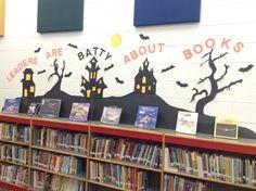 October bat book display