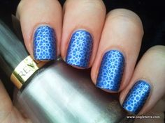 l'Ongleterre: Silver Stamped Flowers
