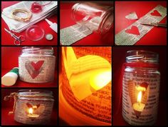 #Manualidades #románticas: candelabro de corazón
