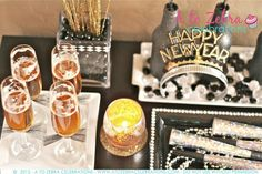 New Year's Eve Party Ideas   A to Zebra Celebrations