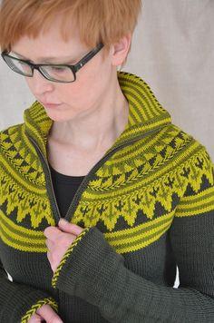 FrauMascha's Groenlijk (Ravelry) pattern by Ann Weaver