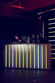neon dj booth be street weekend paris♥