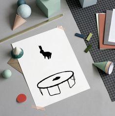 HAM maakt producten met de meest gave afbeeldingen met als hoofdrol een konijn en een varken. Bizar? Totally! Maar wel ontzettend cool.  Te gekke mok  Photography Yeshen Venema