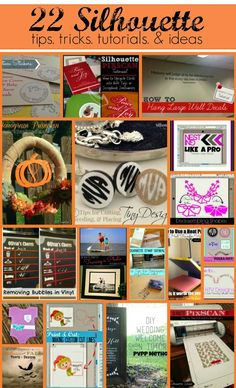 Silhouette School: 22 Silhouette Tutorials, Tips, and Tricks (September Month in Review) Silhouette Cameo Machine, Silhouette Cutter, Canvas Silhouette, Silhouette Design, Silhouette School Blog, Silhouette Cameo Tutorials, Silhouette Curio, Silhouette Portrait, Silhouette Files