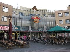 Hard Rock cafe, Amsterdam  This is a TOTAL Dream of mine PLEASE.  I have to visit this one forsure.