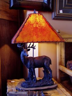 Standing Deer Lamp, 719.657.3111, www.coloradocowgirls.net