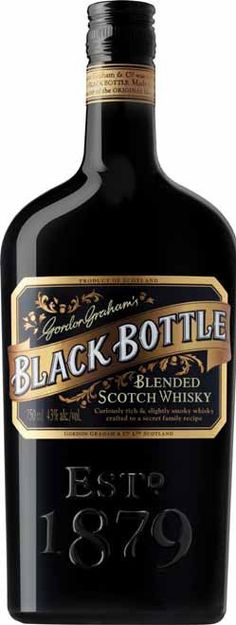 Originally crafted by master tea blenders from Aberdeen in this whisky has returned to its roots with a new fantastic blend at an unbelievable price. Whiskey Decanter, Whiskey Glasses, Black Bottle Whisky, Graham, Ale Recipe, Wine Country Gift Baskets, Blended Whisky, Spiritus, Cheap Wine