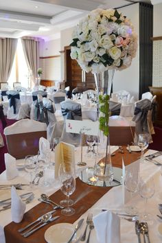 The brehon another table centre Table Centers, Centre, Wedding Venues, Table Settings, Table Decorations, Furniture, Ideas, Home Decor, Table Centerpieces