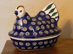 Polish pottery- egg warmer, I want you so bad!!!!!