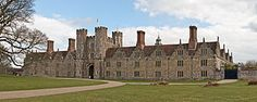 Knole House (Kent). Begun in 1456 by the Archbishop of Cantebury it is celebrated for its 365 room (1 for each day of the year), its 52 staircases (1 for each day of the week) and its 7 courts (1 for each day of the week). In 1566, during the reign of Queen Elizabeth 1, it came into the possession of her cousin, Thomas Sackville, whose descendants the Earls and Dukes of Dorset and Barons Sackville have lived there since 1603.