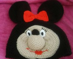 Mouse novelty hat/girly/costume/prop/minnie by bootneckbabies on Etsy