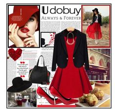 Always and Forever ! by fantasy-rose on Polyvore featuring polyvore, fashion, style, Dsquared2, Bourjois, Retrò and clothing