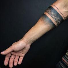 Arm Band Tattoo Artist: Artful Ink Tattoo Studio Bali Bali's truly international tattoo boutique