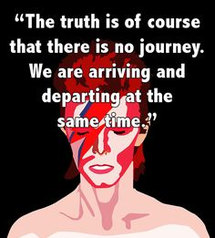 David Bowie Quotes Arriving