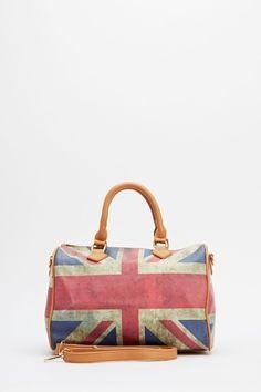 United Kingdom Flag Handbag - Brown or Black - Just £5 Cheap Accessories 7e099f5ce4dfd