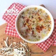 Tutmaç Çorbası Cheeseburger Chowder, Pasta, Soup, Cooking, Kitchen, Soups, Noodles, Cuisine, Chowder
