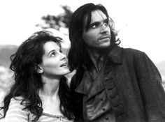 Juliette Binoche & Ralph Fiennes (Wuthering Heights 1992) Peter Kosminsky. Photo Paramount Pictures.