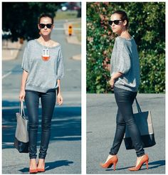 Casual in the city ! (by Veronica  P) http://lookbook.nu/look/3709245-casual-in-the-city