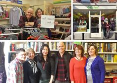 Thanks to Conor Pope, The Irish Times Consumer Correspondent, who spent a morning volunteering in the Oxfam Rathfarnham shop last Friday. He sorted stock, served customers and even created the 'Conor Pope Rail' – his top picks from the shop's stock on sale now!