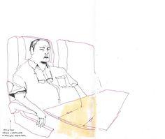 Octogenario en tren a Madrid que parecía muy majo
