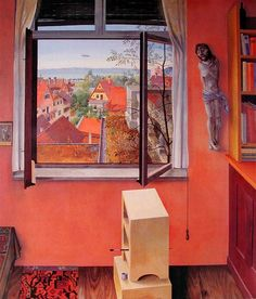 Austrian Painter Rudolf Wacker (1893 -1939) ~ The Austrian painter, Rudolf Wacker started his career as a graphic artist; in 1920, after spending 5 years in Russian captivity as a prisoner of war, he had lived in Berlin where he dedicated himself to Expressionism.