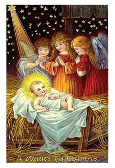 Vintage Christmas Postcard ~ LÁMINAS VINTAGE, ANTIGUAS,RETRO Y POR EL ESTILO.... (pág. 505)   Aprender manualidades es facilisimo.com