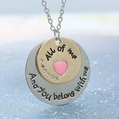 Necklace {And you belong with me|All of me}