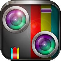 Split Lens-Clone yourself&Best Photo Blender,Mix Pic with Awesome filters and Mirror Effects by Black\Matrix
