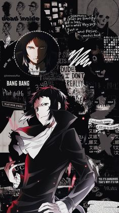 phone wallpaper for guys Wallpaper W, Bungou Stray Dogs Wallpaper, Cute Anime Wallpaper, Dazai Bungou Stray Dogs, Stray Dogs Anime, Animes Wallpapers, Cute Wallpapers, Dog Lockscreen, Anime Lock Screen