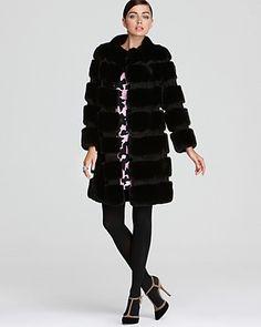 DIANE von FURSTENBERG Fur Jacket & Dress - DIANE von FURSTENBERG - Designer Shops - Contemporary - Bloomingdale's