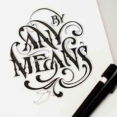 agencia de publicidad en Gandia caligrafia